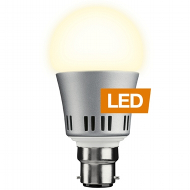 LEDON LED Lamp, 6W, Bayonet, true replacement for  incandescent