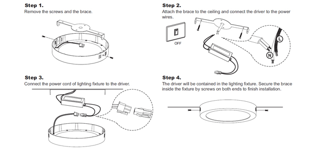 ceiling lamp installation instructions www lightneasy net rh lightneasy net ceiling fan light installation instructions ceiling fan light wiring instructions