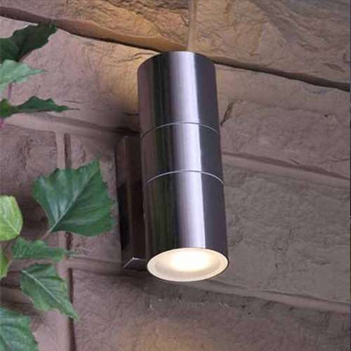 paradise stainless steel outdoor wall lights ip65 option led spots