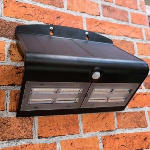 Specter Solar Powered Led Wall Light 6 8watt Voltacon