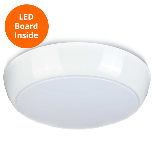 2 Watt 12 Volt Led Round Cabinet Light Fitting Kits Cool: LED Bulkhead -Voltafit LED POLO 2D 16W